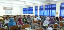 Audiensi Wali Mahasiswa Baru