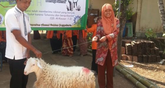 Perayaan Idul Qurban di Tepus