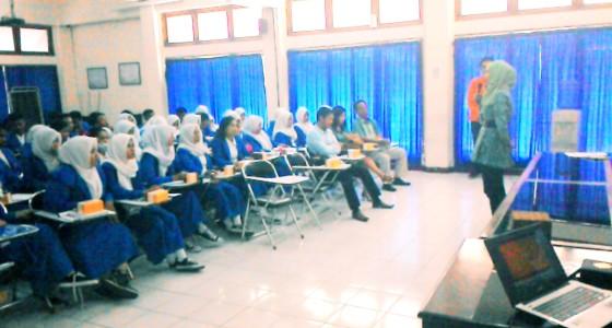 Kunjungan SMK Nusantara Palu