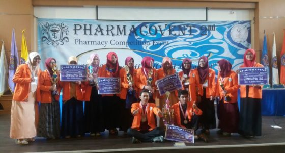 Juara Umum Pharmacovent 2016