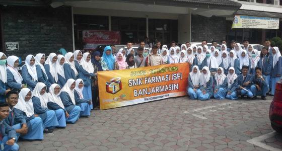 Kunjungan SMK ISFI Banjarmasin
