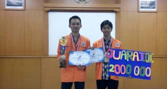 Juara 3 Lomba Karya Tulis Ilmiah