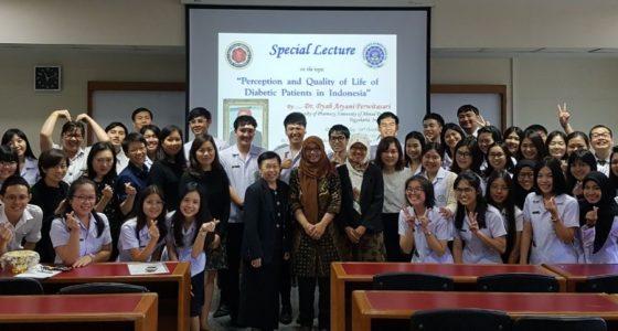 Kuliah Tamu Dr. Dyah Aryani, Siam University