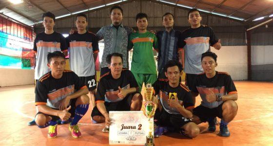 Juara 2 Futsal Milad UAD