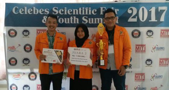 Juara 2 LKTI Nasional 2017